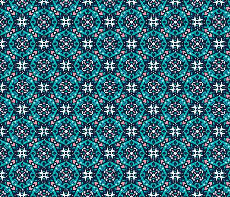 Funky Tile fabric by jessica-rae on Spoonflower - custom fabric