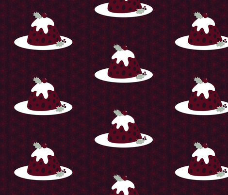 Plum Pudding fabric by colour_angel_by_kv on Spoonflower - custom fabric