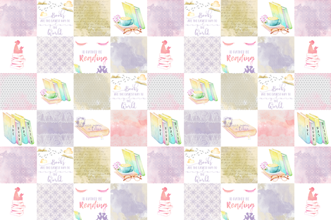 The Book Was Better fabric by lacklandacres on Spoonflower - custom fabric