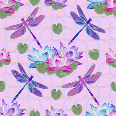 Dragonfly Lotus Pond Final