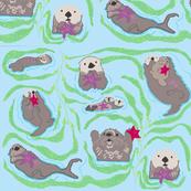 Sea Otter Love-ch
