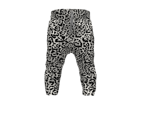 Jaguar Print Black & Cream