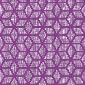 Japanese textures - diamond blocks large purple