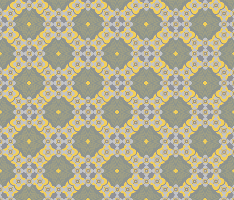 seamless pattern of lace geometric Marrakesh style fabric by svetlankap on Spoonflower - custom fabric