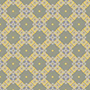 seamless pattern of lace geometric Marrakesh style