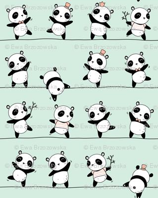 Pandaline - mint - BIG