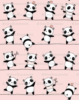 Pandaline - pink - BIG