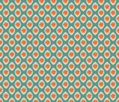 Lovely Sixties fabric by augenschmaus on Spoonflower - custom fabric