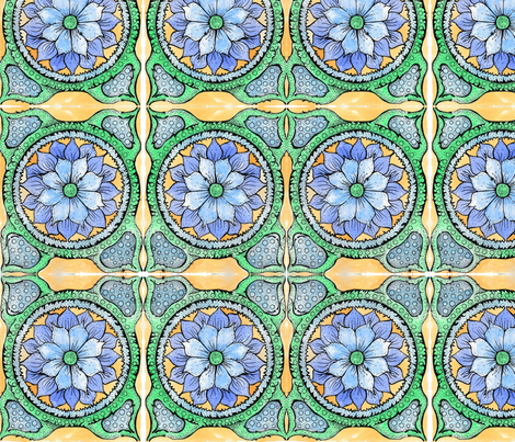 Marrakesh Fabric Design fabric by april_pal on Spoonflower - custom fabric
