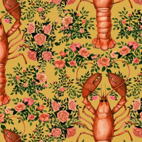lobsterwallpaperofish