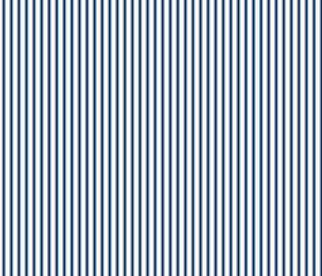 plain navy stripe french ticking stripe blue white stripe-ch fabric by jenlats on Spoonflower - custom fabric