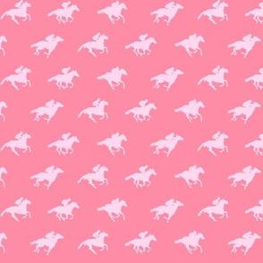 Pink Race Horses, Tiny