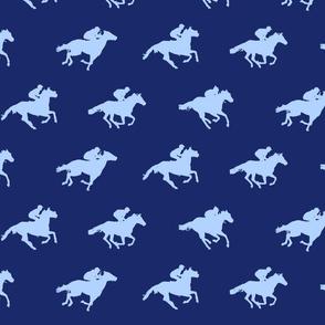 Navy Race Horses