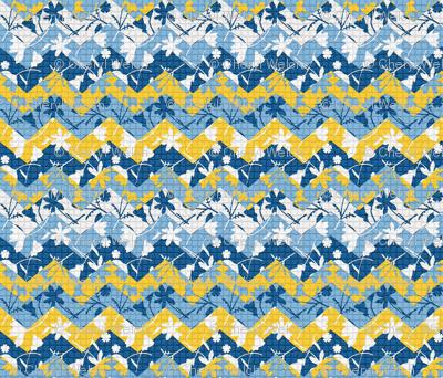 moroccan tile chevron
