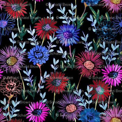 Gillie Floral black