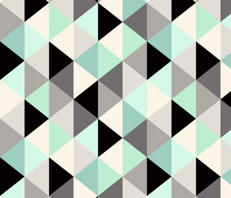 Triangle-geometric-pattern_mint-rotate_shop_preview