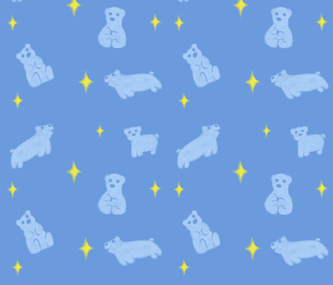 PajaMei version 2.0 (Chalky)  fabric by thezeldadoll on Spoonflower - custom fabric