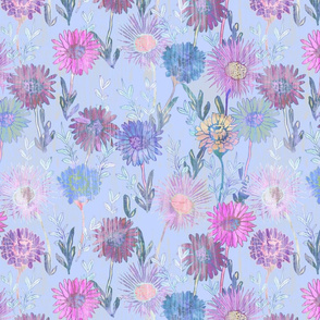 Gillie Floral light blue