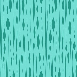 Habitat - Aqua & Teal