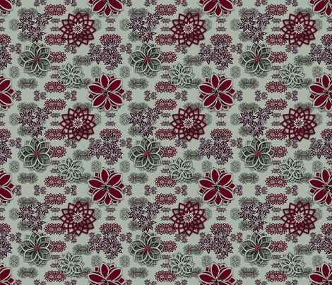 Home for the Holidays fabric by gargoylesentry on Spoonflower - custom fabric