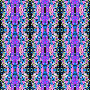 Abstract art - rainbow trout extract, purple