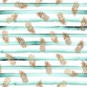 Rose_gold_pineapples-mint_stripe_shop_thumb