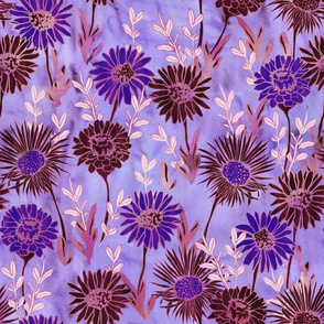 Gillie Floral purple