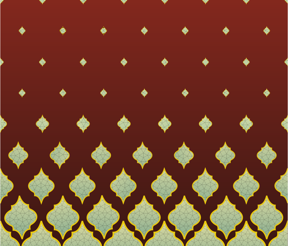 marrikesh border fabric by embroiderme on Spoonflower - custom fabric