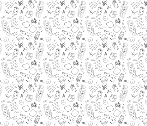 Sausage Sizzle! fabric by janetdrummond on Spoonflower - custom fabric