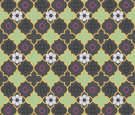 delightful marrakesh fabric by genevieve_nel on Spoonflower - custom fabric