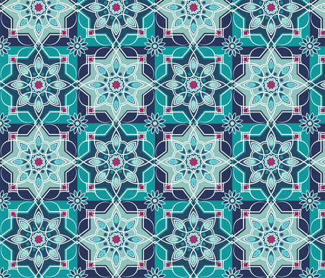 Marrakesh fabric by lily_studio on Spoonflower - custom fabric