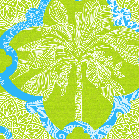 Marrakesh Spring fabric by honoluludesign on Spoonflower - custom fabric