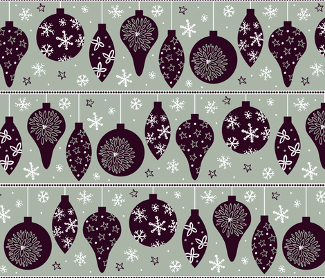 Deck the Halls fabric by robyriker on Spoonflower - custom fabric