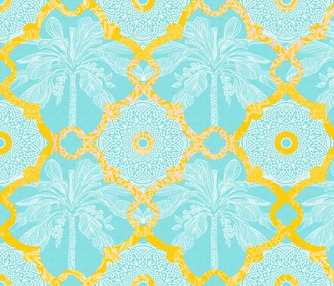 Marrakesh Sunrise fabric by honoluludesign on Spoonflower - custom fabric