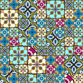 Marrakesh tile quilt