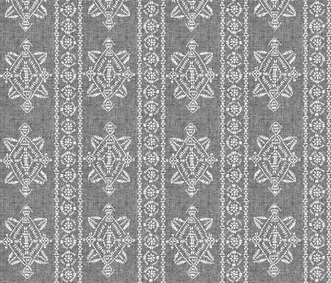 reeve repeat grey linen fabric by schatzibrown on Spoonflower - custom fabric