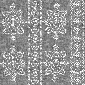 reeve repeat grey linen