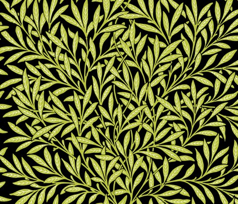 Rwillow-black-and-white-and-usurper-iii-william-morris-peacoquette-designs-copyright-2018_shop_preview