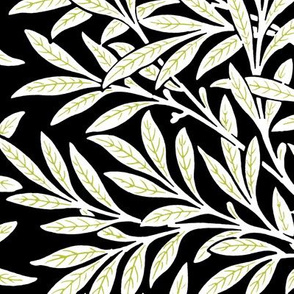 Willow ~ Black and White and Usurper ~ William Morris