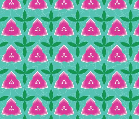 bougainvillea_in_Marrakesh fabric by jyoti41 on Spoonflower - custom fabric