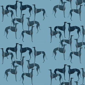 """poets and philosophers"",   blue greyhounds"