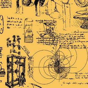 Da Vinci's Sketchbook // Kournikova // Large