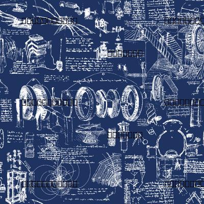Da Vinci's Blueprints // Large