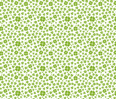 clover pattern 2 fabric by yamanekopaws on Spoonflower - custom fabric