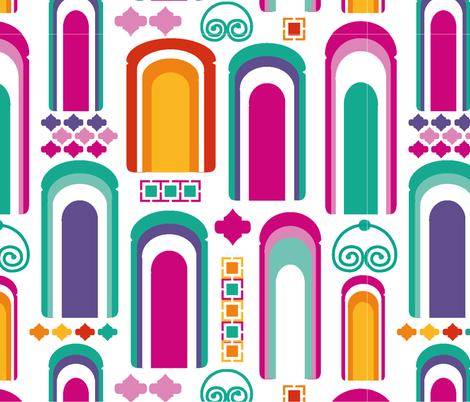 Tore-von marrakesch_RGB300 fabric by diju on Spoonflower - custom fabric