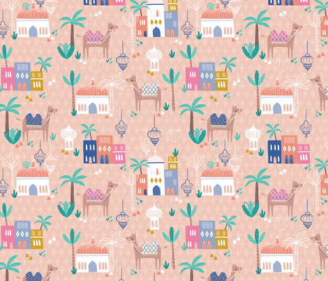 Marrakesh Festival fabric by sarah_knight on Spoonflower - custom fabric