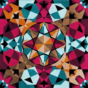 Moroccan Mosaic (Black)