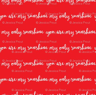 Sunshine - red