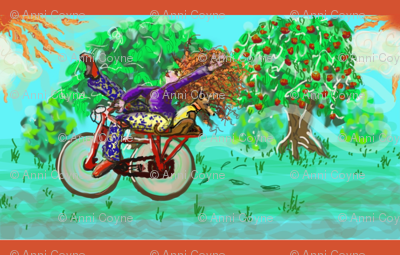 cycle of flight with apple tree _ redhead _ hound-