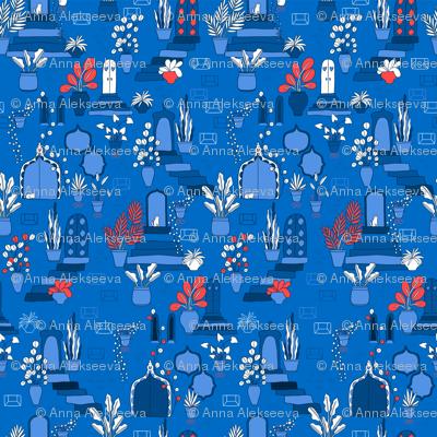 Blue dream. Marrakesh vibes.